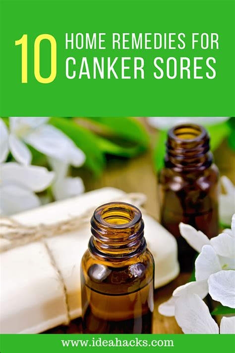 10 home remedies for healing canker sores naturally