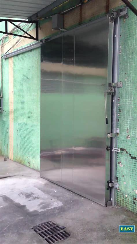 performance cold storage overhead doors coolroom door