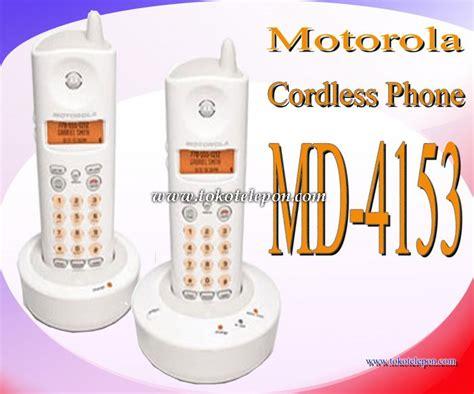 Jual Wireless Phone by Jual Motorola Cordless Phone Md 4153