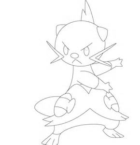 pokemon coloring pages dewott dewott coloring page free printable coloring pages