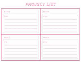 ann marie loves workspace wednesday free project list