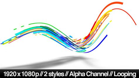 path layout graphic design colorful 3d neon lines moving in organic path by butlerm
