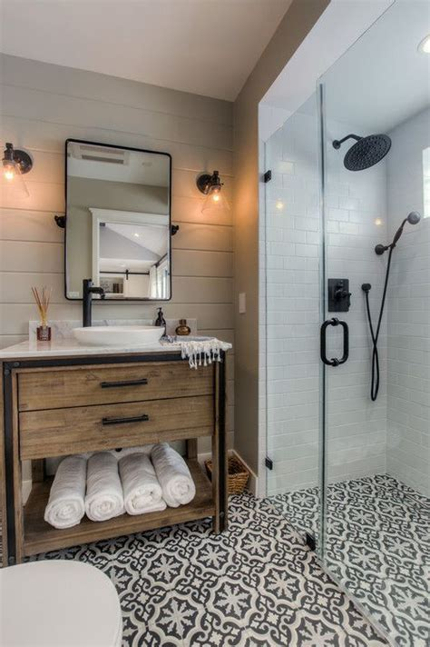 bathroom idea pinterest best 25 farmhouse bathrooms ideas on pinterest guest