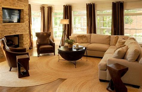 round rugs for living room beautiful rug ideas for every room of your home