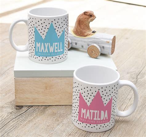 design mug baby personalised ceramic baby keepsake mugs spatz mini peeps 174