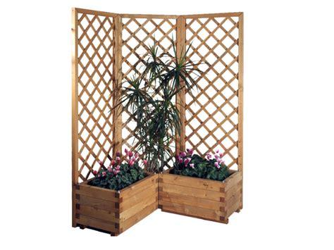 fioriere in legno con grigliato fioriera grigliato in legno la pratolina