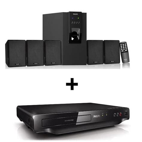 Speaker Dvd buy philips dvp 3608 dvd player with philips dsp 30u 5 1 speaker at best price in india
