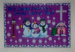 Winter bulletin board sunday school bulletin boards pinterest