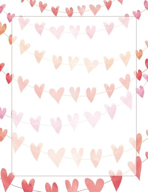pretty paper to write letters on realluy pretty printable