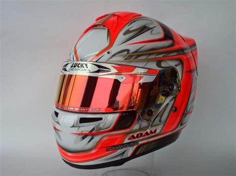 lucky design helmet bag racing helmets garage bell hp7 a maatougui 2015 by lucky
