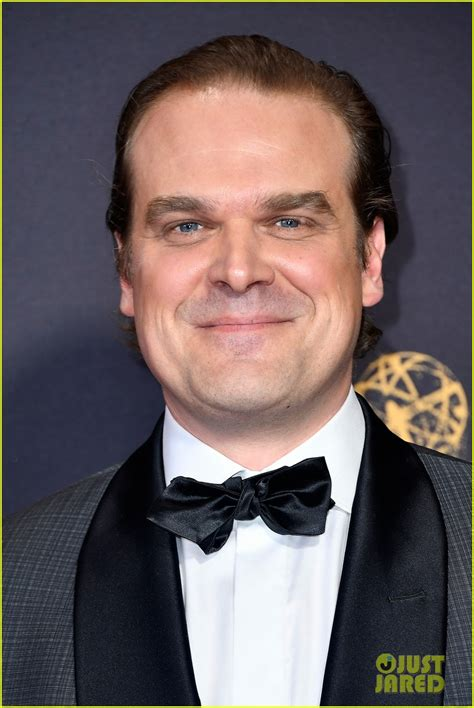 matthew modine on stranger things stranger things stars david harbour cara buono