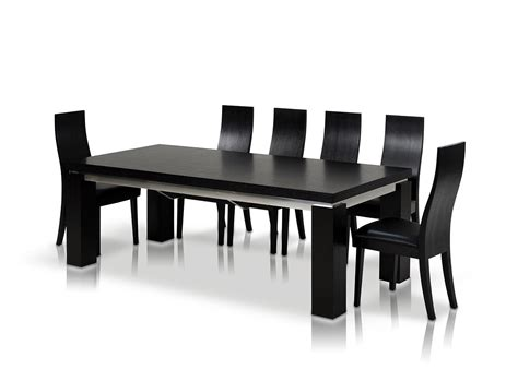 Black Dining Table Set Black Dining Table Set