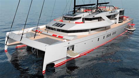 catamaran sailing cruisers superyacht 61 meter sailing catamaran cruisers sailing