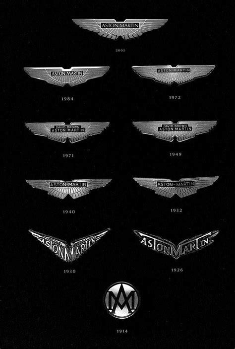 vintage aston martin logo history of all logos all aston martin logos