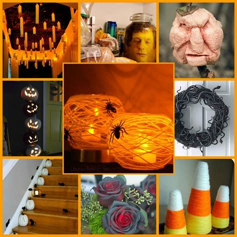 how to make easy halloween decorations at home 21 easy fun spooky diy halloween decor ideas