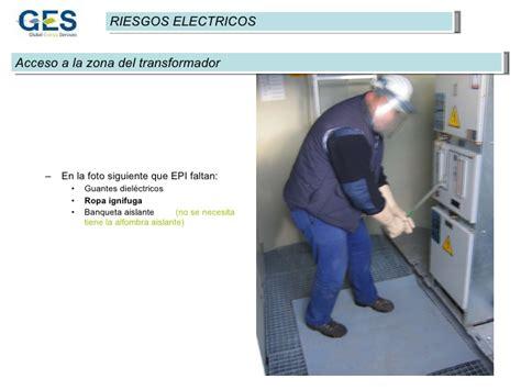 banqueta aislante 3 riesgos eolicos electrico s i n t e s t
