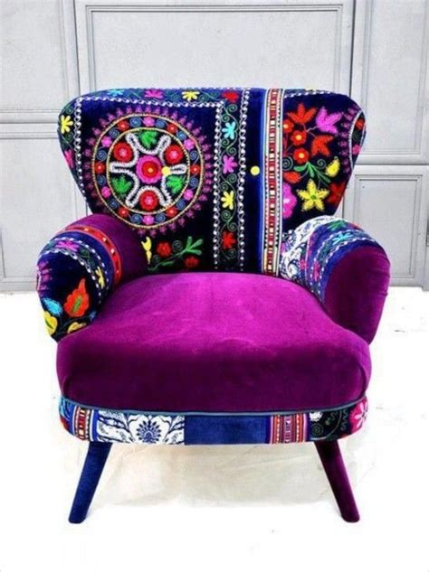 funky furniture colorful chairs