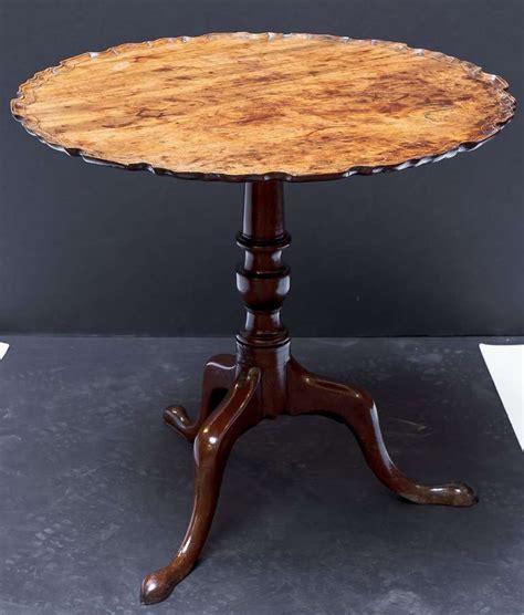pie crust tilt top tripod table at 1stdibs