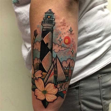 lighthouse tattoos by noelle lamonica divine machine