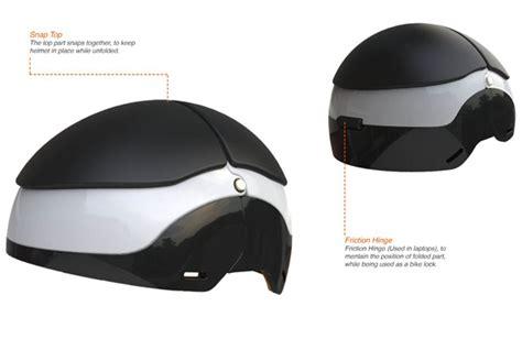 helmet lock design lockmet is your bike helmet and bike lock in one tuvie