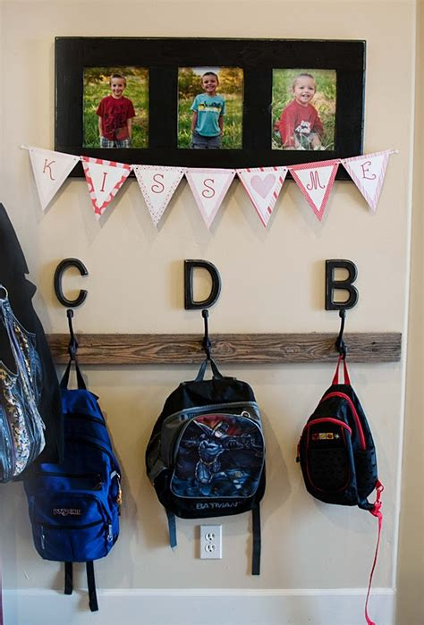 ideas for hanging backpacks 17 best ideas about backpack hanger on