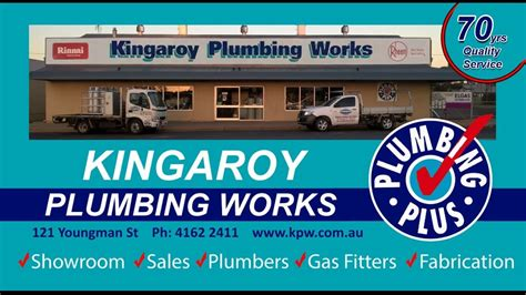 Kingaroy Plumbing Works by Kingaroy Plumbing Works Celebrating 70 Years