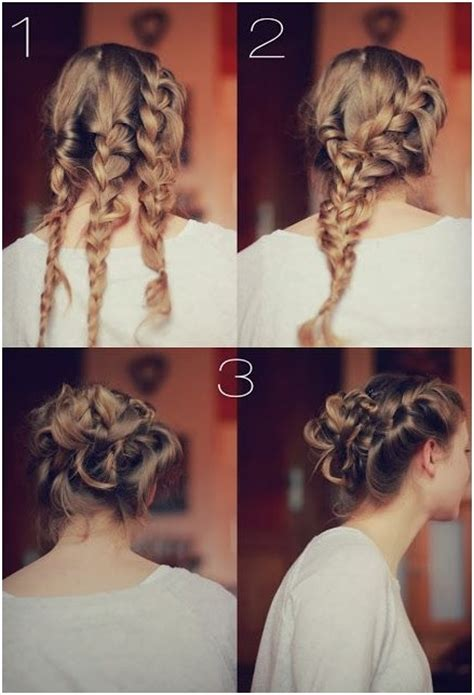 10 trendy braid bun updos popular haircuts