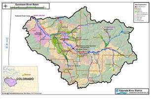 colorado river watershed map colorado river map with states