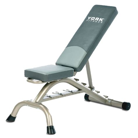 exercise bench with weights york fitness bench