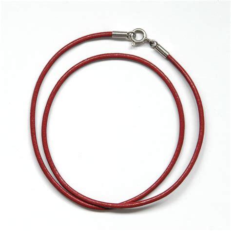 cordones de cuero cord 243 n de cuero con cierre de plata artesano de mar al vent
