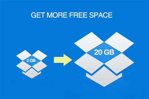 dropbox free digital leaper how to get more free space in dropbox