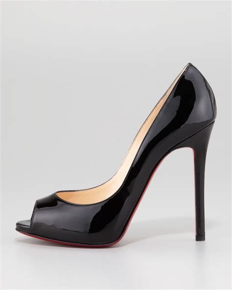 Patent Leather by Lyst Christian Louboutin Flo Patent Leather Sole