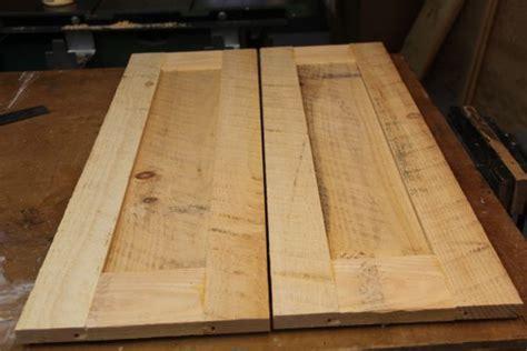 build rustic cabinet doors  concord carpenter
