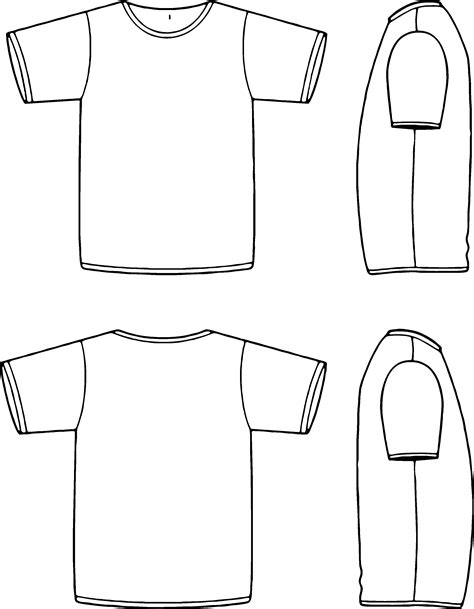 Apparel T Shirt Template Maker