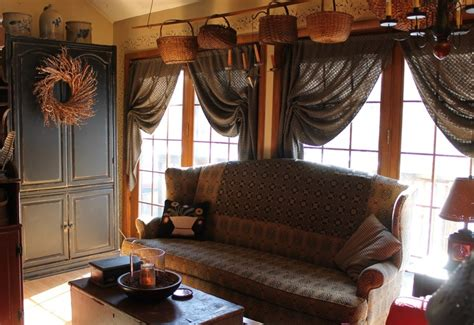 primitive curtains for living room fantastic room gathering rooms pinterest