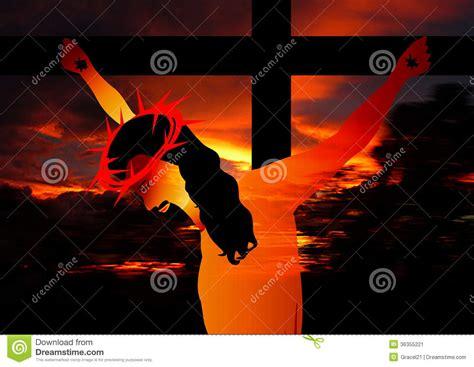 Jesus Healing Blind Jesus Crucifixion Stock Image Image 36355221