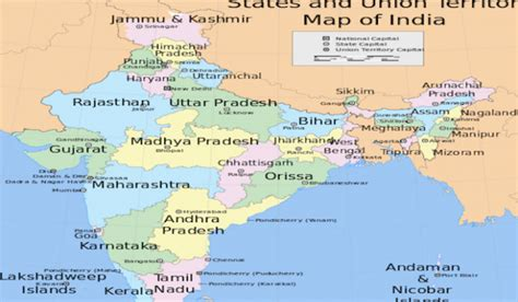 states with state capitals of india worldatlas