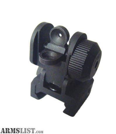 Rear Sight Cqb Pisir Belakang armslist for sale flip up rear sight