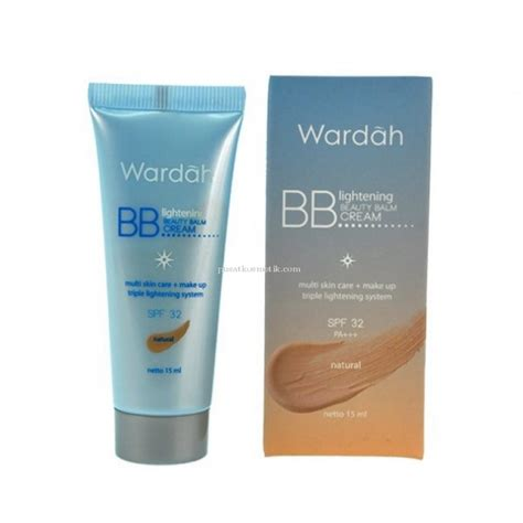 Pelembab Wardah Whitening wardah wardah bb lightening balm