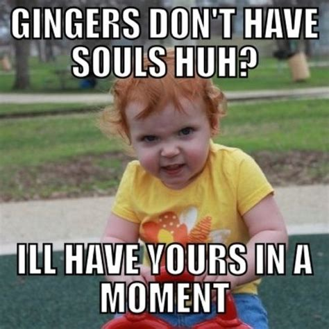 Red Head Meme - angry ginger baby giggles pinterest ginger babies