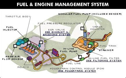 Fuel System Engine Parts Of A Car Engine Diagram Get Free Image About