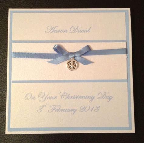 Handmade Personalised Christening Cards - 25 best ideas about handmade christening cards on