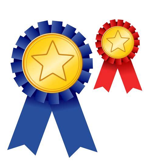clipart medal of achievement remix blue