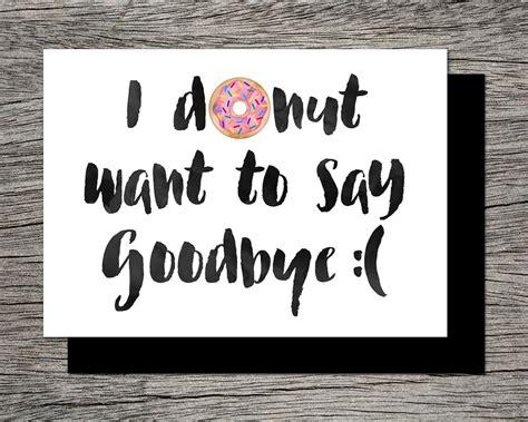 printable goodbye banner printable farewell card printable goodbye by