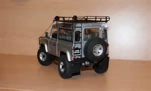 diecast land rover defender 90 modelcar customized 1 18