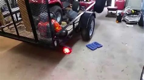 installing new led lights on my utility trailer