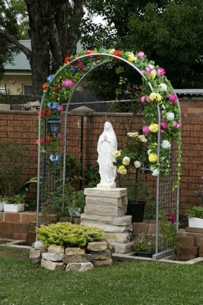 Backyard Grotto by How Do You Build A Lourdes Grotto For The Yard