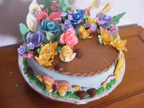 garden easter cake  kristy