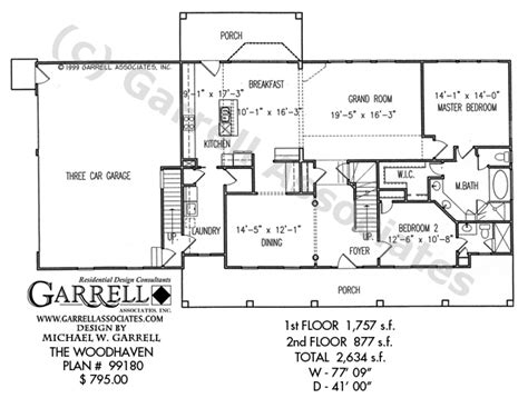 woodhaven floor plan woodhaven house plan house plans by garrell associates inc