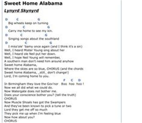 testo sweet home alabama sweet home alabama guitar on sweet home